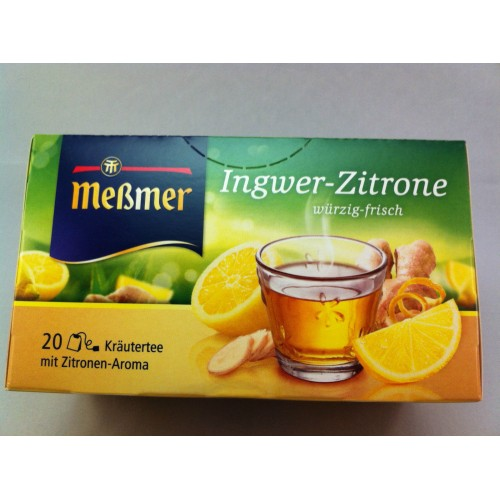 Meßmer Messmer Ginger LemonTea Flavor
