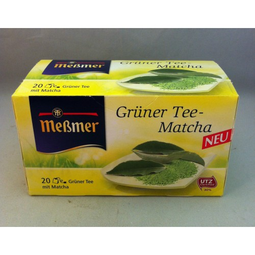 Meßmer Messmer Matcha Green Tea  Flavor