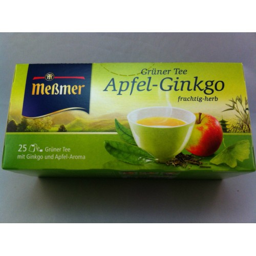 Meßmer Messmer Tea Apple Gingko Flavor