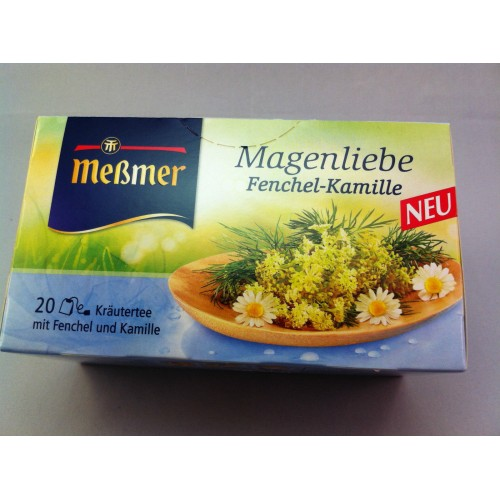 Meßmer Messmer Tea Fennel Chamomile Flavor