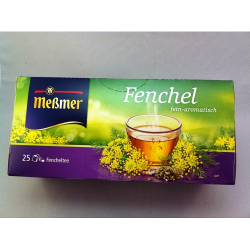 Meßmer Messmer Tea Fennel Flavor