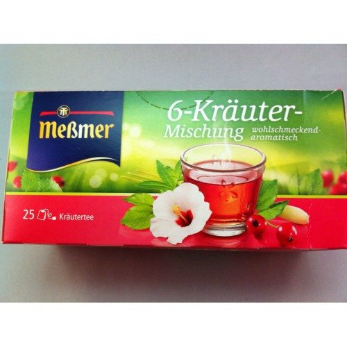 Meßmer Messmer Tea Herb Mixture Flavor