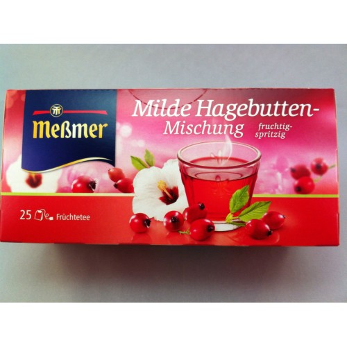 Meßmer Messmer Tea Mild Rose Hips Flavor