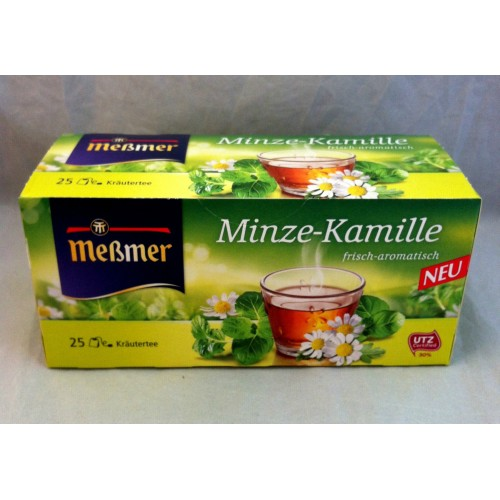 Meßmer Messmer Tea Mint Chamomile Flavor