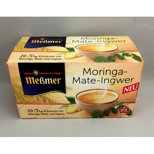 Meßmer Messmer Tea Moringa Mate Ginger Flavor