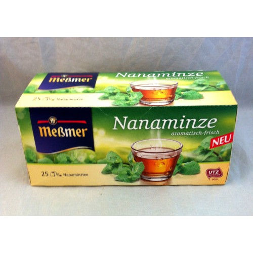 Meßmer Messmer Tea Nanaminze Flavor