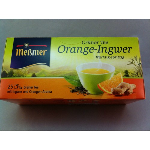 Meßmer Messmer Tea Orange Ginger Flavor
