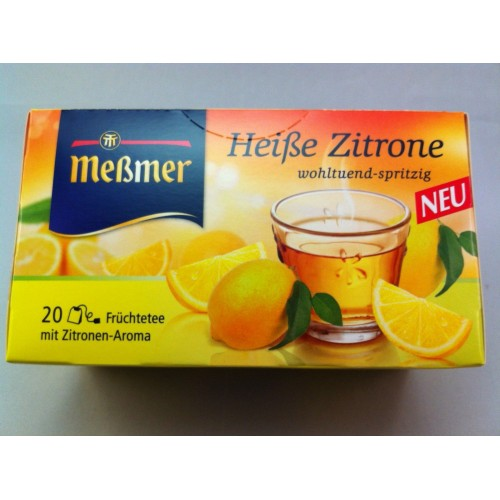 Meßmer Messmer Tea Pleasantly Sparkling Flavor