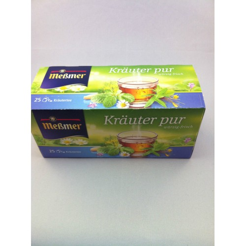 Meßmer Messmer Tea Pure Herbs Flavor