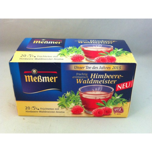 Meßmer Messmer Tea Raspberry Woodruff Flavor