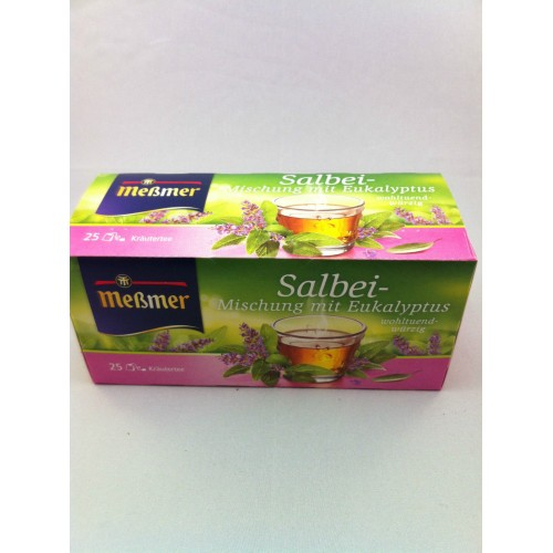 Meßmer Messmer Tea Sage mixture with eucalyptus Flavor