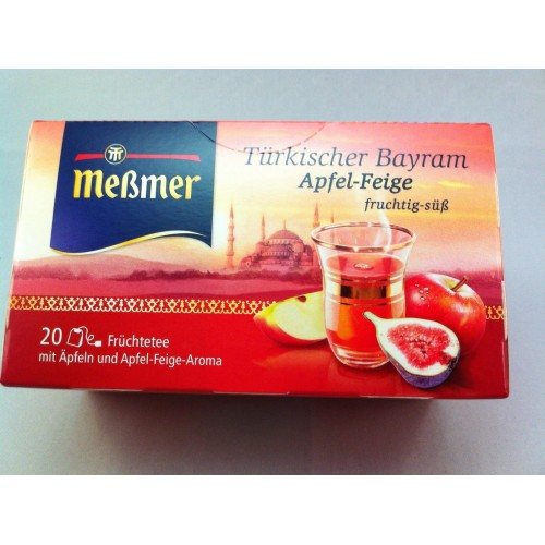 Meßmer Messmer Tea Turkish Apple Fig Flavor