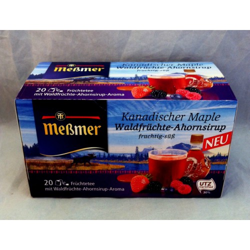 Meßmer Messmer Tea Woody Maple Syrup Flavor