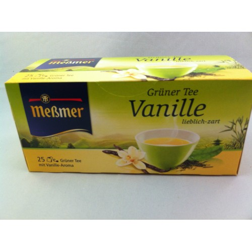 Meßmer Messmer Vanilla Green Tea Flavor