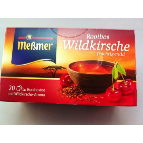 Meßmer Messmer Wild Cherry Tea Flavor