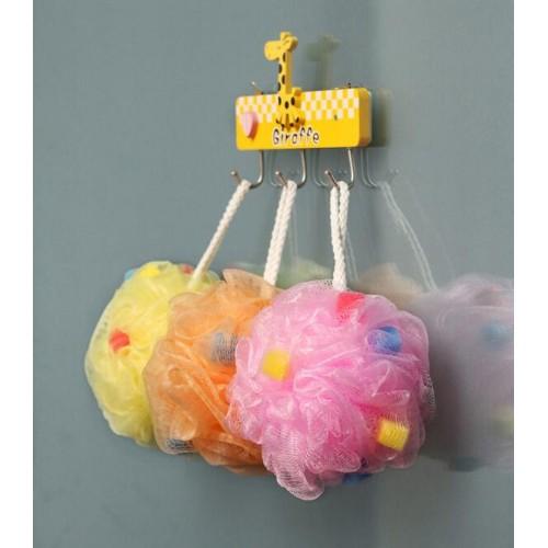 1 piece Kawaii Colorful Soft Comfortable Bath Ball with Sponge Beads Wholesale