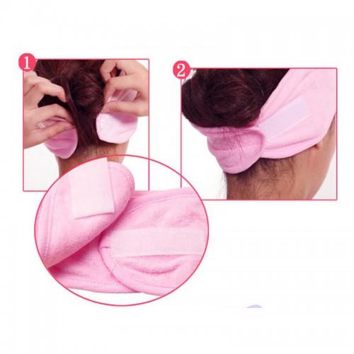 1PC Women Bath Head Wrap Shower Headband Washing Cleansing Toiletries Bathing Tool Accessories A7