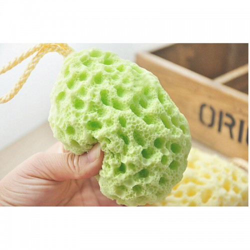 Bath Ball Mesh Brushes Sponges Bath Accessories Body Wisp Natural Sponge Dry Brush Exfoliation Cleaning Equipment