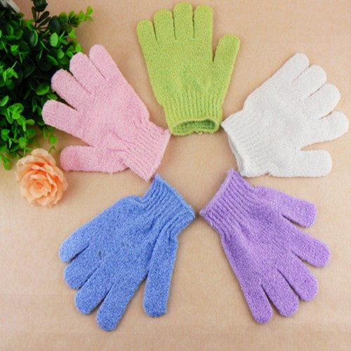 Exfoliating Bath Shower Glove For Peeling Exfoliating Mitt Glove For Bath Shower Scrub Gloves Sponge
