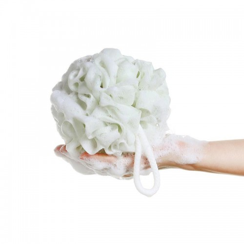 Hygienic Environmental PE Soft bath ball rich bubbles bath sponge brush Bathroom