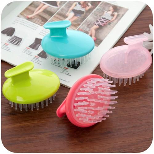 vanzlife colorful shampoo brush scrub head massage scalp massaging head claw head brain shampoo washing brush