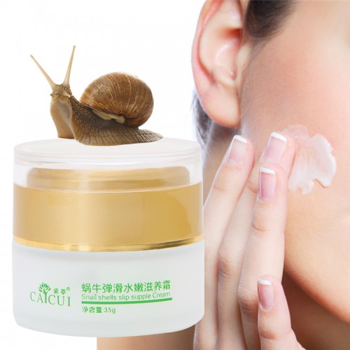 Gold Snail Face Cream Day Creams Moisturizers Whitening Anti Aging Wrinkle facial Cream acne Treatment Face