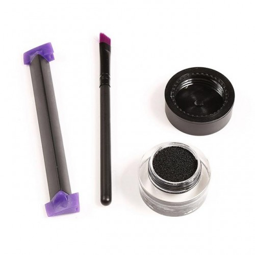 ACEVIVI 3 Size Stamps Eyeliner Tool Beauty Makeup Brush Wing Style Kitten Large Size Easy To.