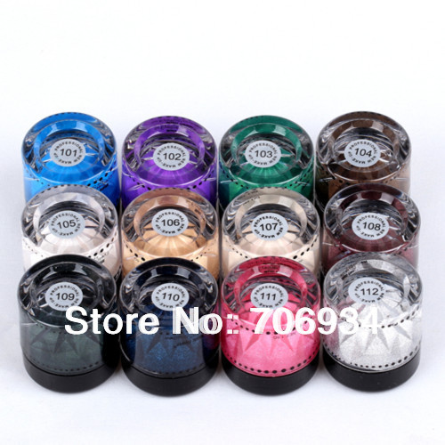 Gel Eyeliner Eye Makeup Eye Liner Cream 12pcs 12 Colors Waterproof Eyeliner