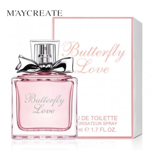 MayCreate 50ml Women Perfume Fresh Elegant Flower Fragrance Parfume long Lasting Makeup Female Perfume Women Spray.