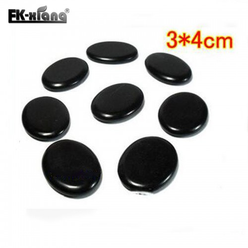 12 pcs lot Massage Stones Massage lava Natural Energy Massage Set Hot Spa Rock Basalt Body