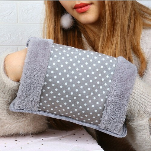 Rechargeable Winter Hand Warmer Electric Hot Water Bottle Bag Hand Pillow Anti-cold Tool