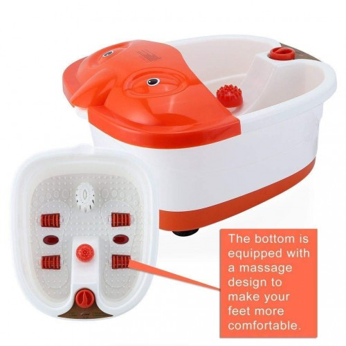 SQ-368 Electric Heated Foot Bath Basin Feet Massager Feet Pain Relief