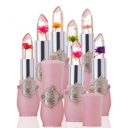New Long Lasting Moisturizer Transparents Flower Lipstick Cosmetics Waterproof Temperature Change Color Jelly Lipstick Balm.jpg 640x640