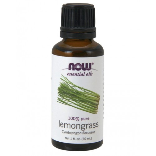 Now Foods, Essential Oils, 100% Pure Lemongrass, 1 fl oz (30 ml)