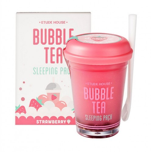 ETUDE HOUSE Bubble Tea Sleeping Pack Strawberry 100g rinishop
