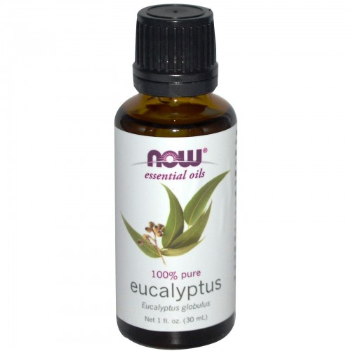 Now Foods, Essential Oils, 100% Pure Eucalyptus, 1 fl oz (30 ml)