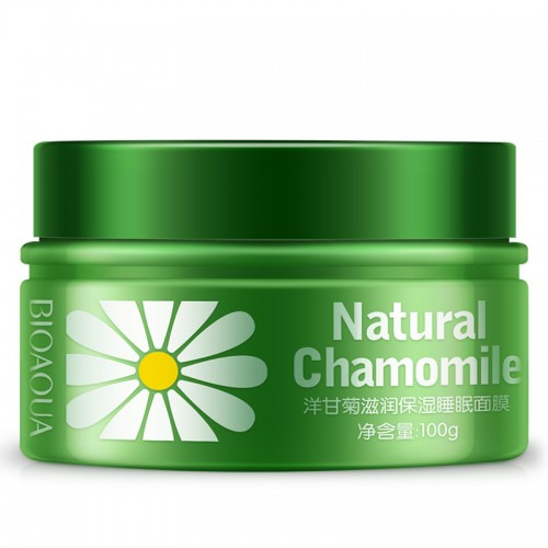Natural Chamomile moisturizing hydrating sleeping mask pack nourishing night cream skin care