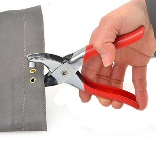 Grommet Button Eyelet Setting Cloth Shoe Bag Plier Leather Belt Canvas Household Pincer Setter Rivet Snap