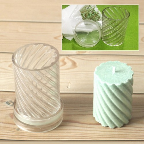Candle Mold Manual Candle Making Spiral Shape Model Candle Moulds wax shaping molds DIY Craft Tools