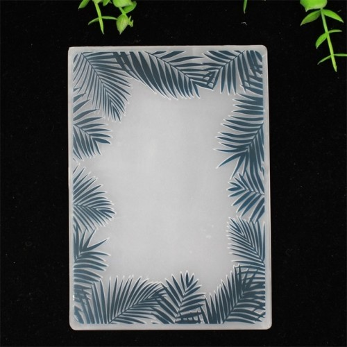 KLJUYP Leaf Plastic Embossing Folders for DIY Scrapbooking Paper Craft Card Making Decoration Supplies 106