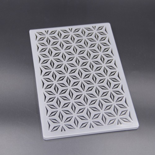 KLJUYP Plastic Embossing Folders for DIY Scrapbooking Paper Craft Card Making Decoration Supplies