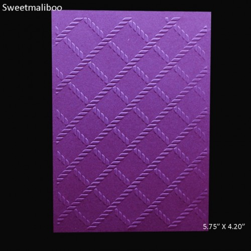 Square grid Embossing folder plastic DIY Scrapbooking stencils paper card making Supplie craft envelop album