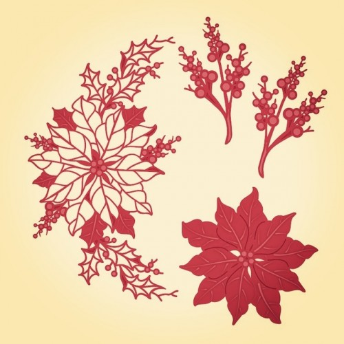 Flower Leaves Branches Metal Cutting Dies New Stencils for DIY Scrapbooking DIY Paper Cards Craft Making