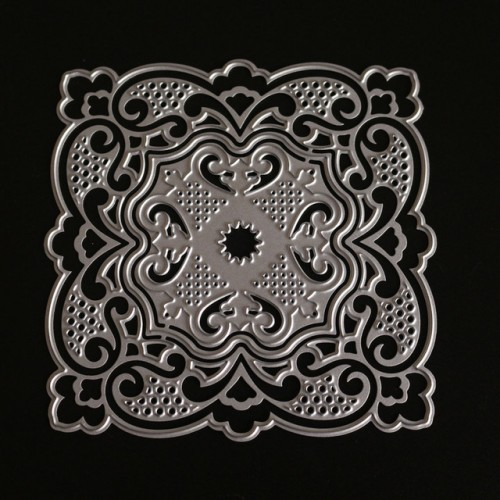 Lace Frame cutting dies for Happy Birthday Scrapbooking Metal Dies Craft Easter Card Decor Stamps NEW