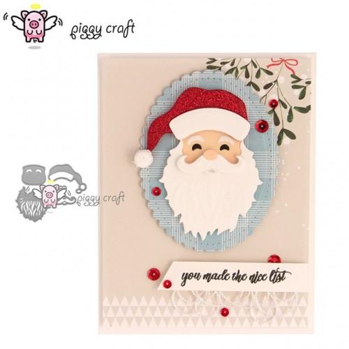 Piggy Craft metal cutting dies cut die mold 5Pcs new santa Claus Scrapbook paper craft knife