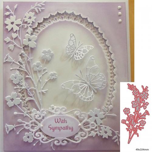 Stamps Dies Scrapbooking Flower Leaves Cutting Dies Metal Craft Card Making Die Cut Embossing Easter Stencils
