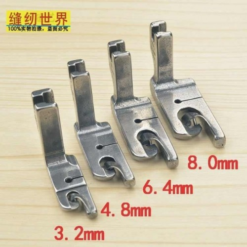 4pcs Industrial lockstitch Sewing Machine Presser Foot for hemming purpose very competitive price best