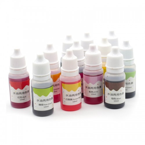10ml Handmade Soap Dye Pigments Base Color Liquid Pigment DIY Manual Soap Colorant Tool Kit