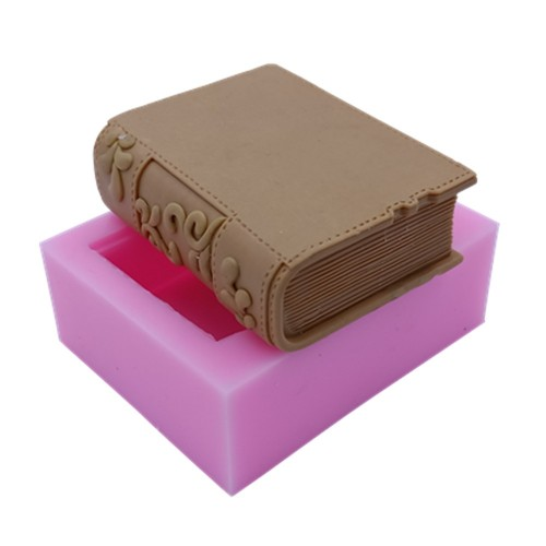 New Book Design Silicone Soap Mold Candle Mold 3D Silicone Molds for Soap Cake Chocolate