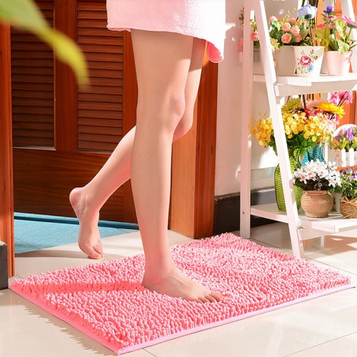 Comfortable Non Slip Bath Mat Candy Colours Carpet Kitchen Floor Mat for Home Living Room Bedroom